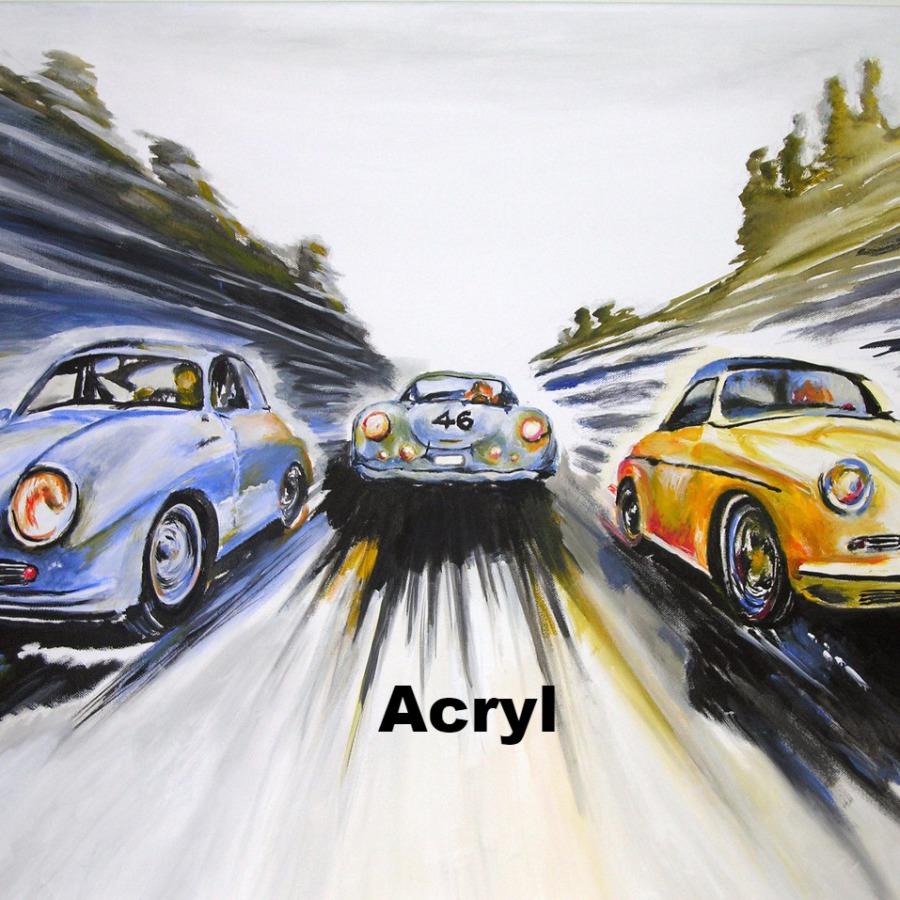 Acryl Galerie von Portrait-GowArt