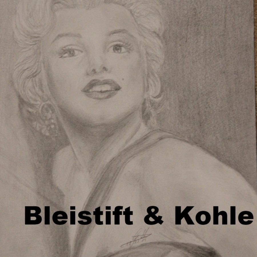 Bleistift und Kohle Galerie von Portrait-GowArt