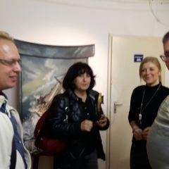 """2016: Ausstellung des Bildes """"Hoffnung"""" in Wuppertal"""